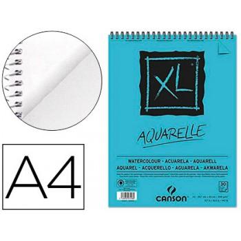 Bloco de Desenho A4 30 Folhas 300Gr Aquarella Fino Canson