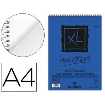Bloco de Desenho A4 30 Folhas 300Gr MixMedia Canson