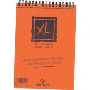 Bloco de Desenho A5 60 Folhas 90Gr Espiral Canson