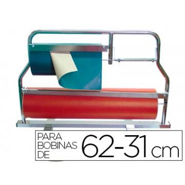 Porta Rolos Mostrador Corta Papel 62 e 31cm
