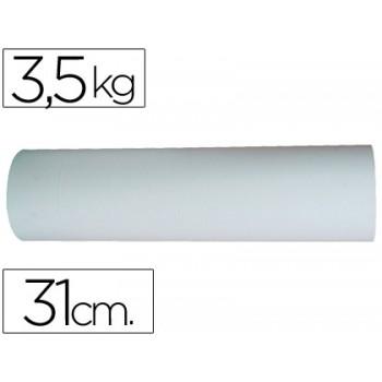 Papel branco em bobine 31cm 3.5kg