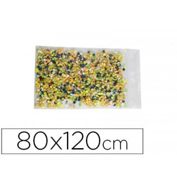 Bolsa Plástica Auto Selada 80x120mm Pack 100 Unidades