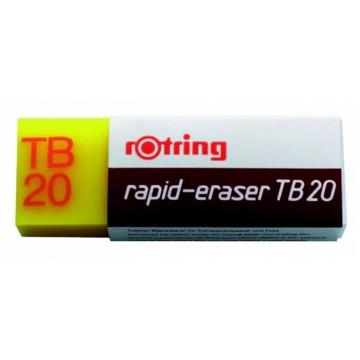 Borracha Rotring TB20 para tinta da china e lápis