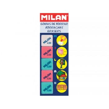 Borracha Milan 430 - 5 Unidades