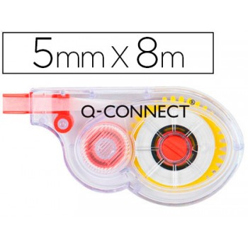 Corretor Fita 5mm x 8m Q-Connect 12 Unidades