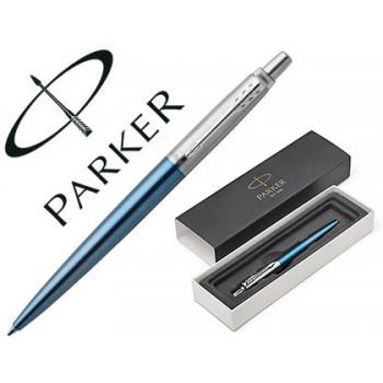 Esferográfica Parker Jotter Waterloo Azul Ct