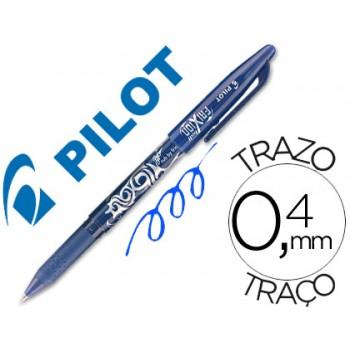 Esferográfica Replay Pilot Frixion Azul 12 Unidades
