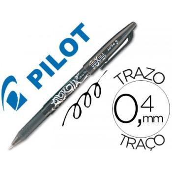 Esferográfica Replay Pilot Frixion Preta 12 Unidades