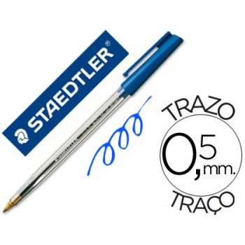 Esferográfica Stick Staedtler Azul