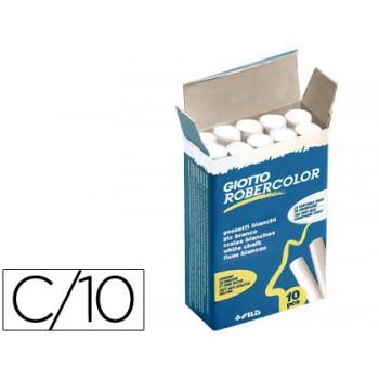 Giz Branco Robercolor Giotto Caixa 10 Unidades