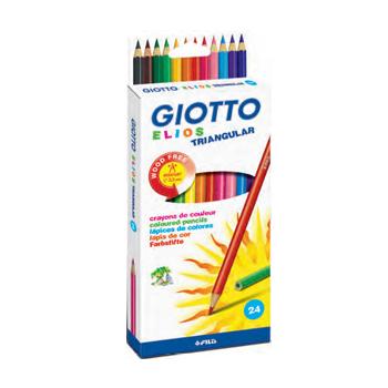 Lápis de Cor Giotto Com 24