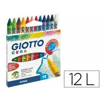 Lápis de Cera Com 12 Giotto