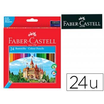 Lápis de Cor Faber Castell Com 24