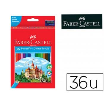 Lápis de Cor Faber Castell Com 36