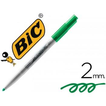 Marcador Para Quadro Branco BIC Velleda 1741 Verde 12 Unidades