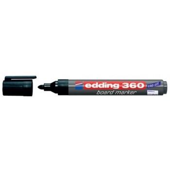 Marcador Para Quadro Branco Edding 360 Preto