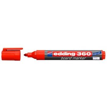 Marcador Para Quadro Branco Edding 360 Vermelho 10 Unidades