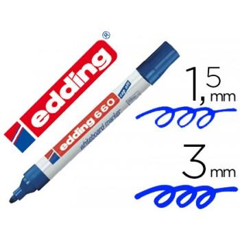 Marcador Para Quadro Branco Edding 660 Azul