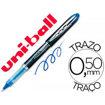 Marcador 0.5mm Roller Ball UB-205 Uni Ball Vision Azul