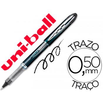 Marcador 0.5mm Roller Ball UB-205 Uni Ball Vision Preto