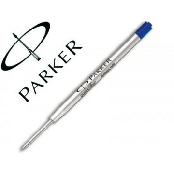 Carga Esferográfica Parker 0,5mm Fino Azul