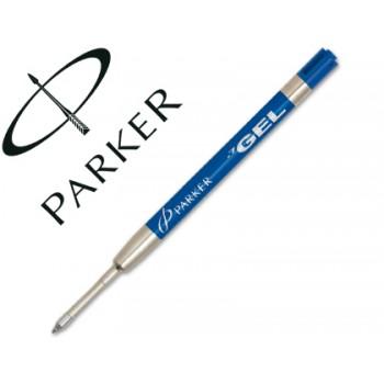 Carga Esferográfica Parker Gel Azul 0,7mm