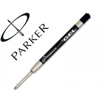 Carga Esferográfica Parker Gel Preta 0,7mm