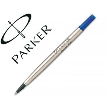 Carga Esferográfica Parker Roller Ball Médio Azul
