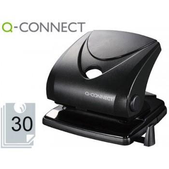 Furador 30 Folhas Preto Q-Connect