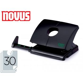 Furador 30 Folhas Plástico Novus B230 Preto