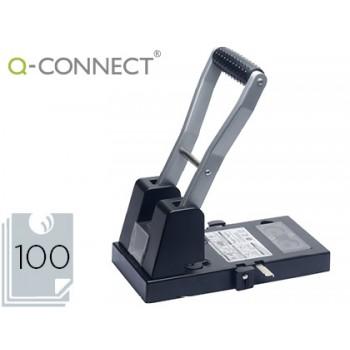 Furador Industrial 100 Folhas Metálico Q-Connect