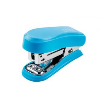 Agrafador 12 Folhas 24/6 Mini Azul Novus