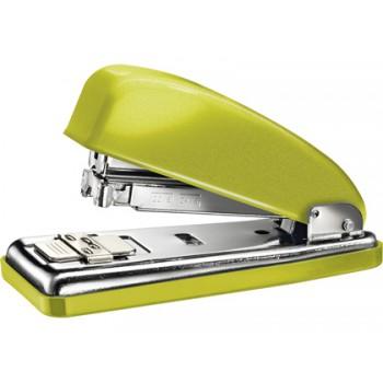 Agrafador 30 Folhas Nº24/6 Metalizado Verde Classic Wow 226 Petrus