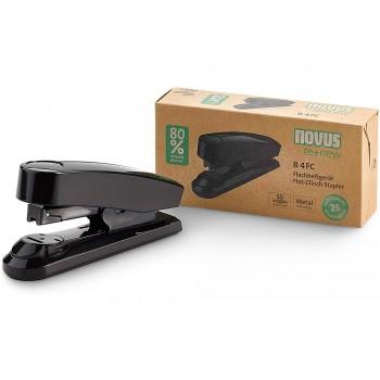 Agrafador 50 Folhas 24/6-8 e 26/6-8 Plástico Novus B4FC Preto
