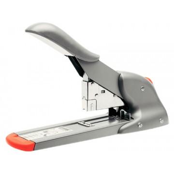 Agrafador Industrial 110 Folhas Rapid HD110 Fashion Prata e Laranja