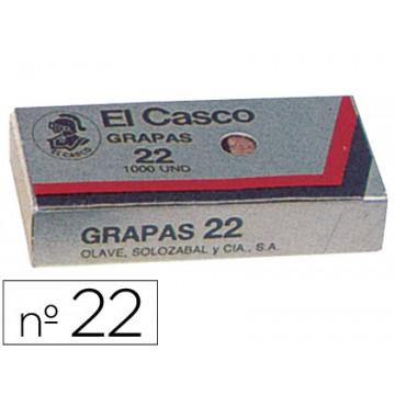 Agrafos 22/6mm Galvanizados com 1000 El Casco