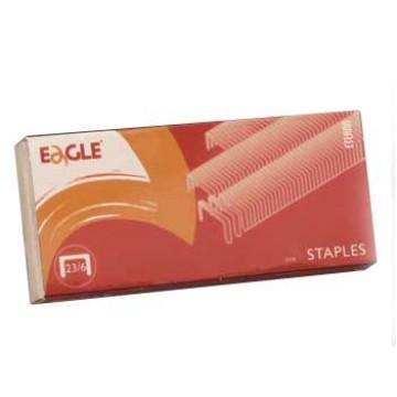 Agrafos 23/6mm Caixa com 1000 Eagle (até 30 Folhas)