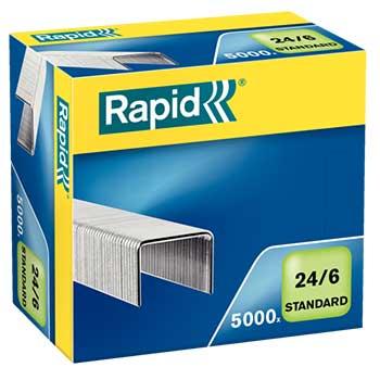 Agrafos  24/6mm Com 5000 Rapid Standard