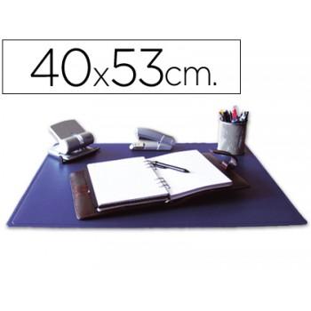 Base Para Secretaria 400x530mm Pvc Anti Aderente Azul Q-Connect
