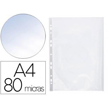 Bolsa Catálogo A4 80 Microns Cristal com Abertura Superior e Lateral Esquerda 25 Unidades