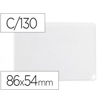 Bolsa Plástica 86x54mm 130 Microns PVC 100 Unidades Q-Connect