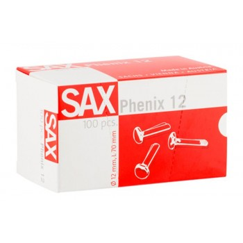 Ataches SAX Nº12 70mm Caixa 100 unidades