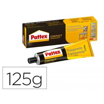 Cola Pattex Contacto Transparente 125grs