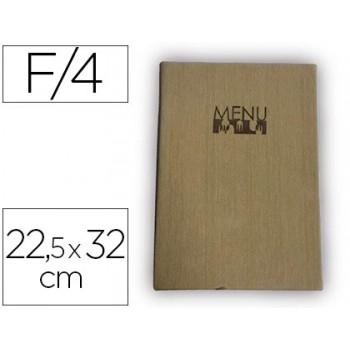 Porta Menus 22,5X32cm Com 4 Bolsas