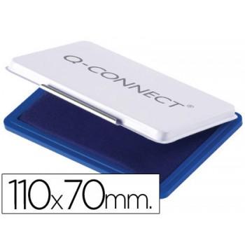 Almofada para Carimbo Nº2 110x70mm Azul Q-Connect
