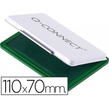 Almofada para Carimbo Nº2 110x70mm Verde Q-Connect