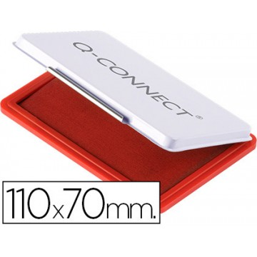 Almofada para Carimbo Nº2 110x70mm Vermelha Q-Connect