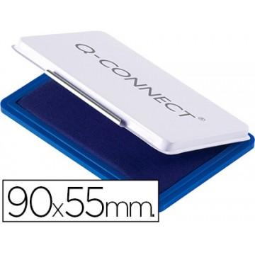 Almofada para Carimbo Nº3 90x55mm Azul Q-Connect