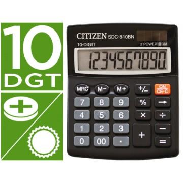 Calculadora Secretária 10 dígitos SDC-810-BN Citizen