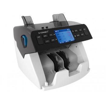 Detector Contador de Notas Sensor Duplo Q-Connect